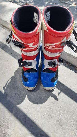 botas alpinestars niño talla 34