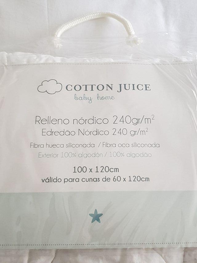 Relleno nórdico cuna Cotton Juice