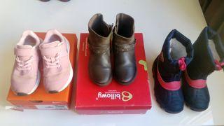 Pack zapatos niña 28