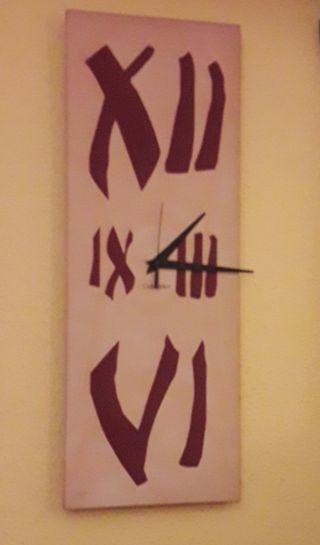 Reloj De Pared Madera .Original. Decorativo!!