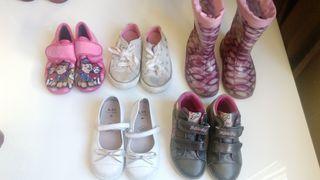Pack zapatos niña 26