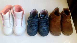 Pack zapatos niña 25