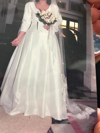 vestido de novia de un solo uso