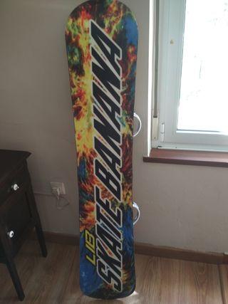 tabla snow skate banana