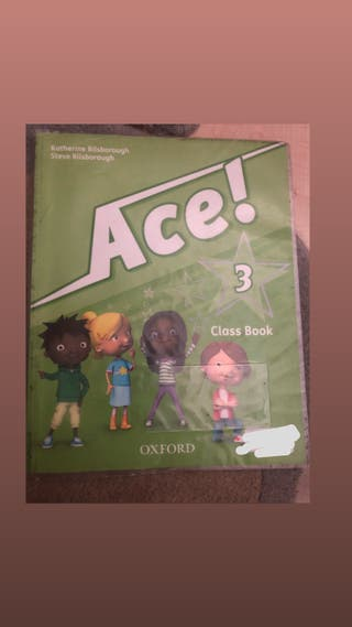 Libro inglés 3º primaria Ace! Oxford