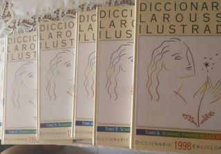 diccionario larousse ilustrado cinco tomos