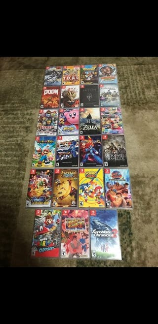 Nintendo switch games bundle 23 games in total