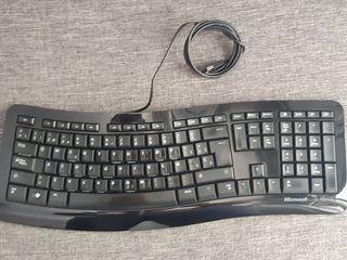 Teclado ergonomico Microsoft
