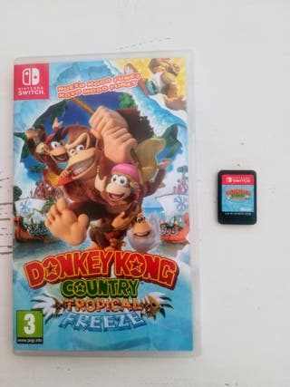 DonkeyKong Country Nintendo Switch
