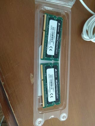 Corsair Mac Memoria RAM, 8 GB, 2x4GB