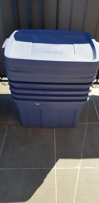 Contenedores de plástico para almacenaje