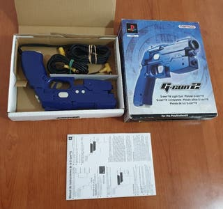 pistola gcon2 y súper game boy
