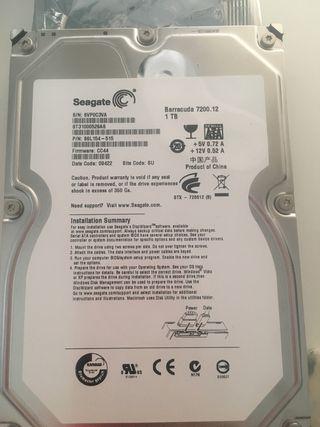 Disco duro interno 1Tb