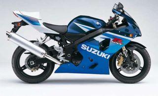 Despiece suzuki gsx r 600 2005