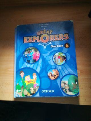 Libro de inglés de 6 de primaria