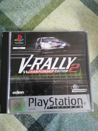 V Rally 2 Pal España Completo Ps1 Psx