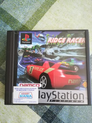 Ridge Racer Pal España Completo Ps1 Psx