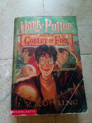 book Harry Potter and the goblet of fire 4