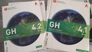 Vendo libros de 4 ESO de historia