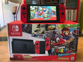 Nintendo switch super Maria edition