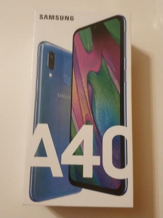 [PRECINTADO] Samsung Galaxy A40 Azul