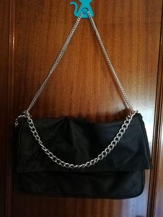 Bolso negro Blanco