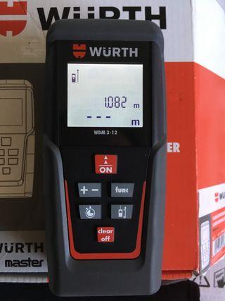 Medidor de distancia láser alta presión WURTH