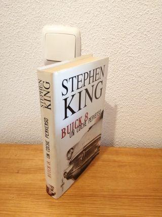 "LIBRO ""BUICK 8, UN COCHE PERVERSO (STEPHEN KING)"