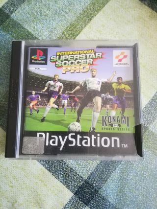 International Superstar Soccer Pro Pal España Ps1