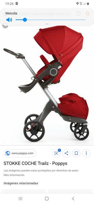 carrito de bebé sttoke