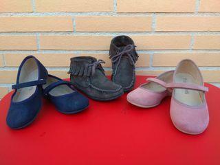 zapatos niña talla 28 Lote