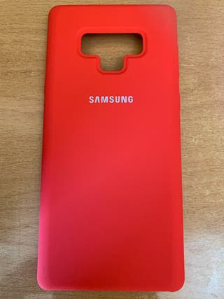 Funda Galaxy Note 9 Roja
