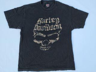 Harley Davidson cementerio TACOMA 2015 camiseta