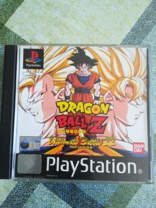Dragon Ball Z Ultimate battle 22 Pal Completo Ps1