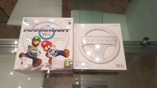Mario Kart Wii y 2 volantes