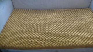 Colchón para cuna + sábanas