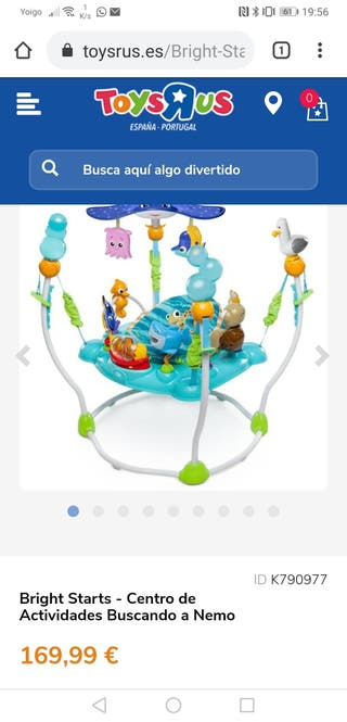 juguete saltador y recreo bebes