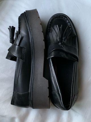 Zapatos mocasines plataforma NUEVOS