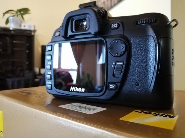 Cámara Nikon D80 impecable