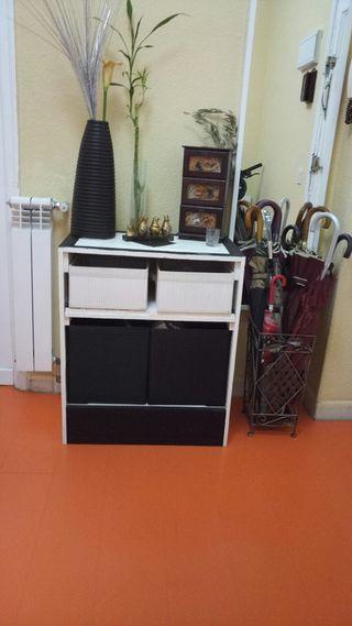 mueble de entrada hecho de palet regalo las caja