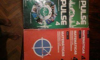 Vendo libros texto 4º eso