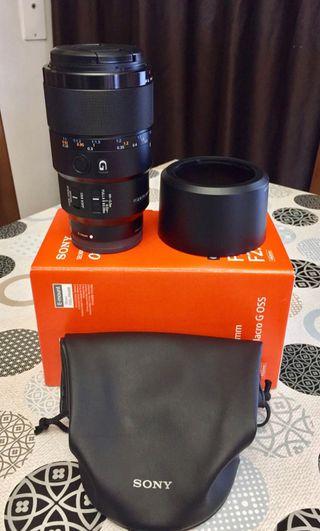 Objetivo Sony FE 90/2,8 macro Oss G