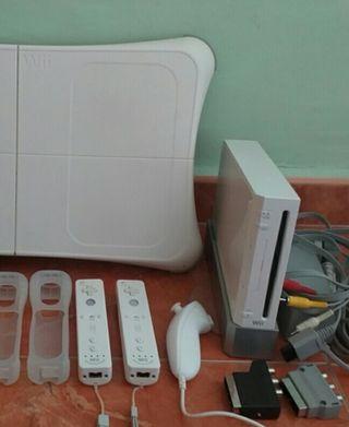 Wii + balance board