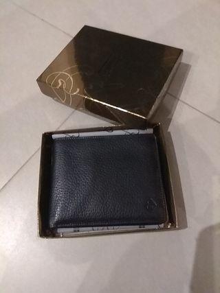 Cartera billetera negra hombre