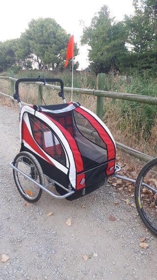 Carro para bici doble
