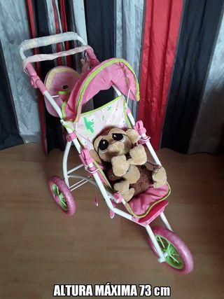 carrito de muñecas ARIAS regalo monito