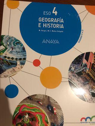 Geografía e Historia 4ºESO Anaya