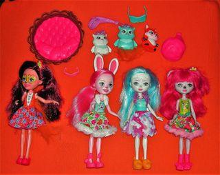 Muñecas ENCHANTIMALS Lote