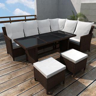 vidaXL Set muebles de jardín 4 piezas 43095