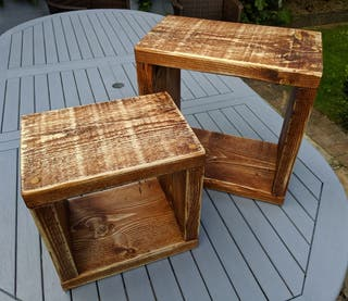 Rustic Nest of Tables